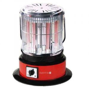 دوتس دفاية كهربائية دائريه, 2000واط, 3 مستويات للتسخين, 6 شمعات, 360 درجة للتدفئة - NI-301