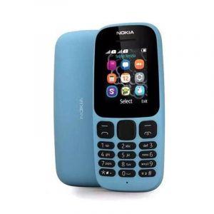 Nokia 105 -2017 , 4MB , Dual Sim , 2G , Blue