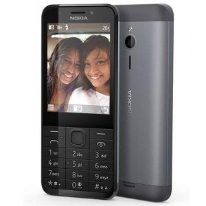 Nokia 230 Dual Sim, 2.8 Inch, 16MB RAM, GSM, Dark Silver