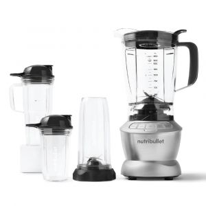 NUTRIBULLET BLENDER COMBO 1200W, Silver - NBC-1110A.blackbox