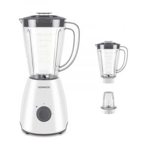 Kenwood Electric Blender with 1 Mill+ 1 Jug, 2 L , 400 Watts - OWBLP10.E0WH