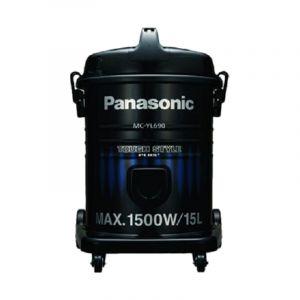 باناسونيك مكنسة برميل, سعة كيس الغبار 15 لتر, قدرة 1500 واط,ماليزي - MC-YL690A747 - الصندوق الاسود