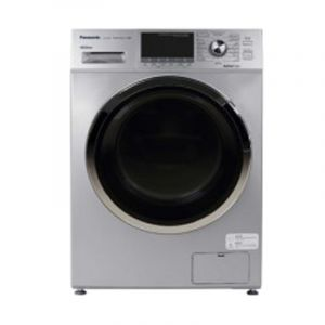 Panasonic Front Load Washing Machine, 8 kg ,Dry 6 kg , Silver - NA-S086M3LSA