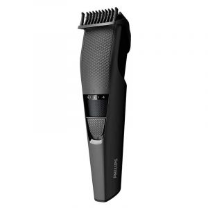 Philips Berad Trimmer 1mm precision settings,45 min cordless use/10h charge,Stainless steel blades - BT3208/13