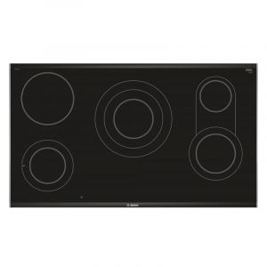 Bosch Eletric Hob 90CM , PKV975DC1M , Built in , 5 Burners , Black - PKV975DC1M