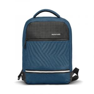Promate Laptop Bag 13 Inch, Anti-Theft, with USB Port, BLUE - EXPLORER-BP