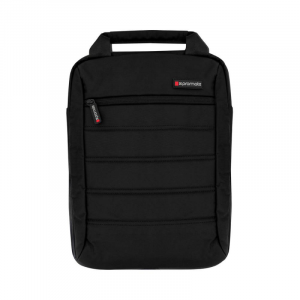 "Promate Laptop Bag, up to 13.3"", Heavy Duty Bag, BLACK - Rebel-MB"