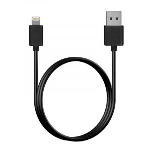 Promate MFI Lightning Sync and Charge Cable for iphone, 120cm, BLACK - LINKMATE-LT
