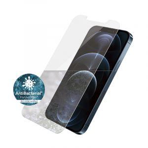بانزر جلاس واقي الشاشة للآيفون 12  6.7  بوصه, مقاس قياسي, مقاوم للبكتريا