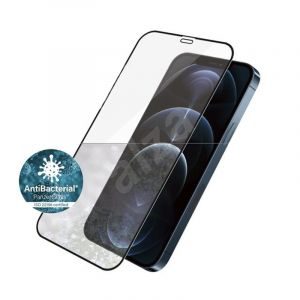 "PanzerGlass iPhone 12 6.7"" Edge-to-Edge Clear Screen - Antibacterial"