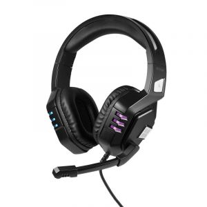 Promate Wired Gaming Headset with Microphone - Black - PYTHON.BLACK