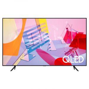 Samsung TV 55 inch QLED , 4K ,Smart , QUANTUM HDR , Black - QA55Q60TAUXUM