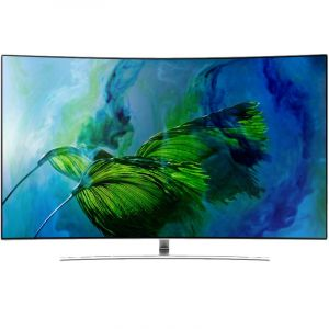 Samsung 65 Inch,Curved,Smart, QLED TV ,Quantum Dot, Q Engine - QA65Q8CAMRXUM