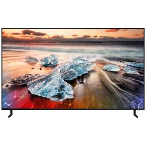 SAMSUNG TV 65 ''QLED , SMART ,8K , Black - QA65Q900RBRXUM