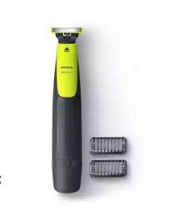 فيليبس ماكينة تشذيب الشعر وحلاقته , تحديد الحواف, 2 أمشاط للحية خفيفة قابلة للتثبيت, قابلة لاعادة الشحن , إستخدام رطب وجاف - QP2510/13