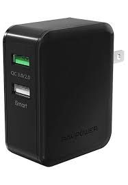 Ravpower USB 30W Quick Charge 3.0, Black - RP-PC006