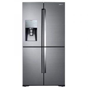 Samsung Refrigerator Side by Side 4 Door, 24.6 FT, 696 L,  Silver - RF28N9271SRB