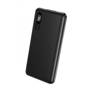 Roxxon Power Bank With Digital Display, 10000 mAh, Black - RP-6041