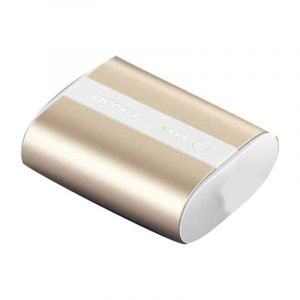 Ravpower Portable Charger 10000mAh PD+QC 2-Port ,18W , Metallic Gold - RP-PB197