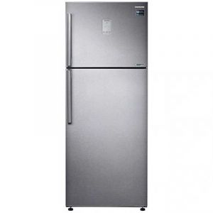 Samsung Refrigerator 2 Door , 430L, Top Freezer with Twin Cooling, Silver - RT43K6370SLB