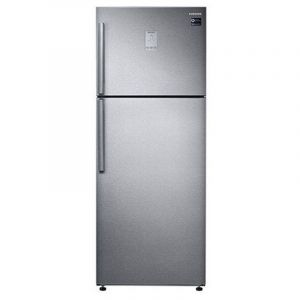 Samsung Refrigerator 16 Cu.ft, 460L.T ,Twin Cooling, Silver- RT46K6370SLB