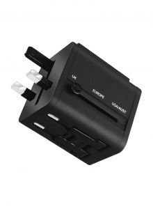 Roxxon Universal Travel Charger (5V 1A), Black - RW-2020