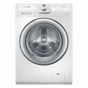 Samsung Washing Machines Front Load, 14 kg ,100% Drying , White - WD14F5K3ACW1