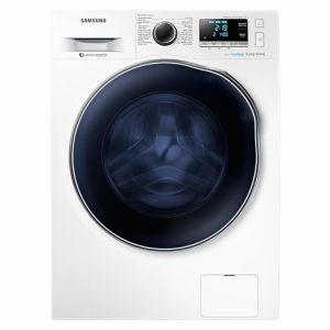 Samsung Washing Machine 8KG, 6KG Dryer100%, FrontLoad, White - WD80J6410AW