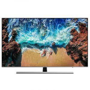 "SAMSUNG Flat TV 55"" 4K UHD Premium , HDR , Smart , Black -UA55NU8000"