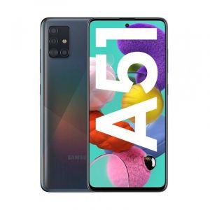 SAMSUNG Galaxy A51,128GB , 6GB RAM , 4000 mAh battery - Black