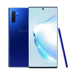 Samsung GALAXY Note10+ 6.8 inch , 5G , 256 GB , 12 GB Ram - Aura Blue