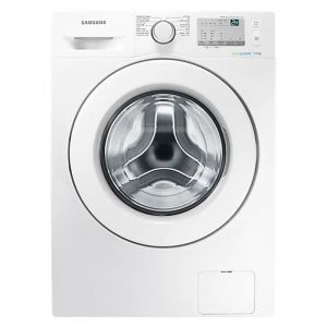 SAMSUNG  Washing Machine, Front Load, 7 Kg, Dryer 75% , White - WW70J3263KW