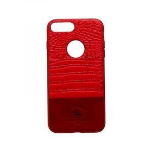 بولو غطاء حمايه جوال ايفون 7 , احمر - SB-IP7SPHSM-RED