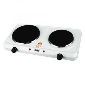 Sanford Electric Stove Double Burner , 185+150 mm, Fast Heat Up , 2500W - SF5012HPT