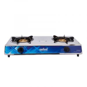 Sanford Gas Stove Double Burner , Stainless Steel- SF5313GC