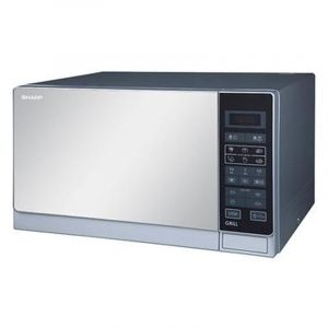 Sharp Microwave 34 Litres, Stainless steel, 60 Hz  - R-77AS ST - Blackbox