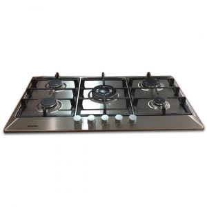 Simfer Built-In Gas Hob -90 cm - 3 Burners Normal - 1 Burner Trible Head -Safety system - H 9501 WGRM