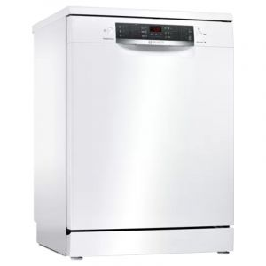 Bosch Dishwasher 4 Programs , 13 Place Setting ,Turkey, White - SMS46NW10M