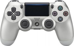 PlayStation 4 Wireless DualShock 4 Controller -SILVER-CUH-ZCT2