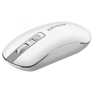 Promate High Precision Ergonomic Wireless Mouse - White - SUAVE.WHITE