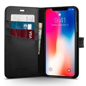 Spigen iPhone X Case Wallet S - 057CS22176