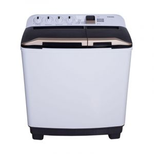 TOSHIBA Washing Machine, Twin Tub,  10 kg, White, VH-H110WBB