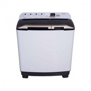 TOSHIBA Washing Machine, Twin Tub, 12 kg, White - VH-H130WBB
