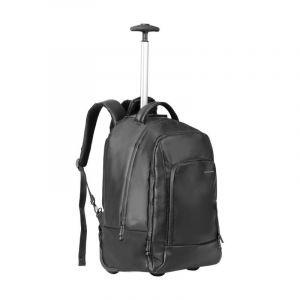 "Promate Capacity Trolley bag 15.6"" ,Black - TRANSIT-TR.BLACK"