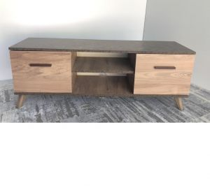TV Table Without Stand , Walnut - CRE47-160