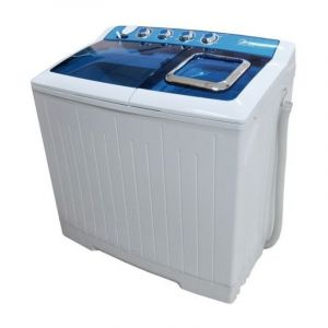 Midea Washing Machine, Twin Tub, 12 Kg, Dryer 7 Kg, White, TW120AD