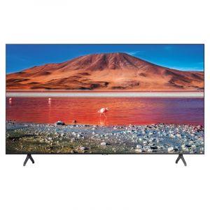 Samsung TV 43 inch, 4K HDR 10 ,Smart , Crystal UHD, Black - UA43TU7000UXUM