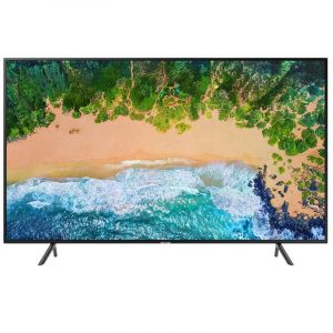 Samsung Flat TV 49 inch, 4K UHD ,HDR ,Smart ,Black - UA49NU7100