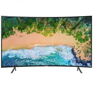 "SAMSUNG Curved TV 49"" 4K UHD , HDR , Smart , Black - UA49NU7300RXUM"