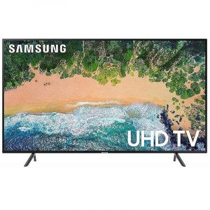 Samsung TV 50 inch, 4K ,Smart , UHD, Black - UA50RU7105